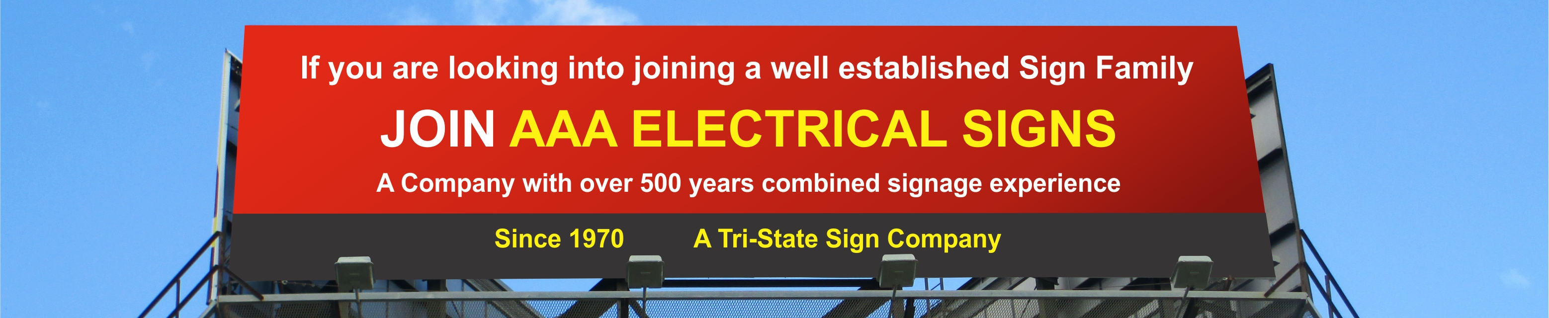 Join AAA Electrical Signs